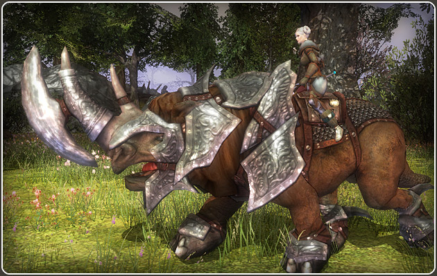 Darkfall Online Armored Mount