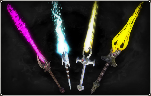 Darkfall Online Sithra Weapons