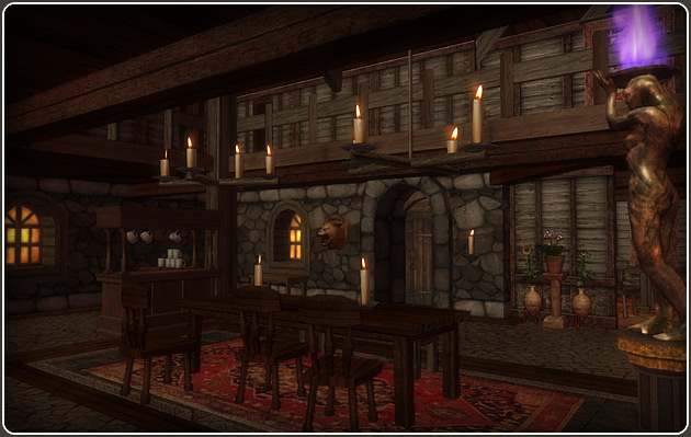 Darkfall Online Player Housing