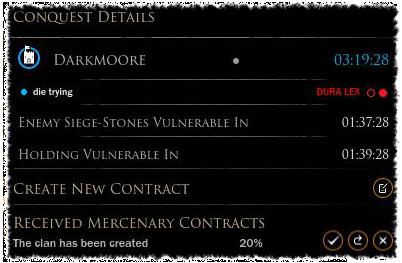 Conquest Details